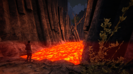 Lava Lake in Cinder Valley