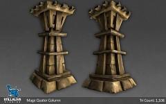 Mage Quarter Column