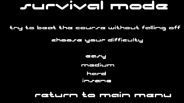 New Survival Mode