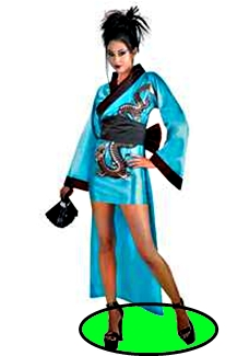 Ninja Lady (Board Game Character #2)