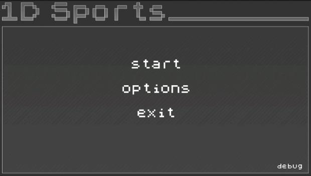 1D Sports Alpha Main Menu