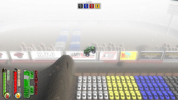 How far can you fly in the long jump arena?