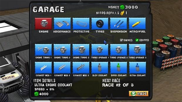 The upgrade shop