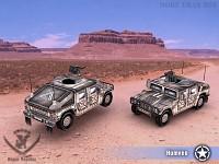 Humvees!