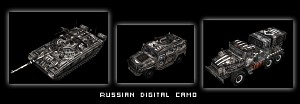 Russian digital camo
