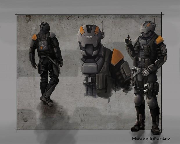 Concept Art Rifleman