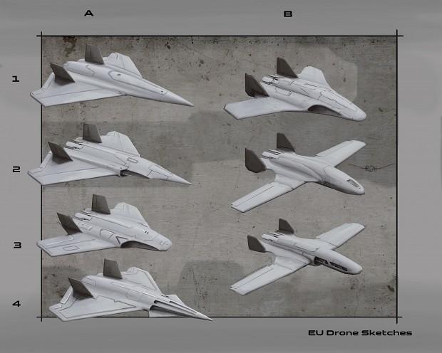 EU drone concept