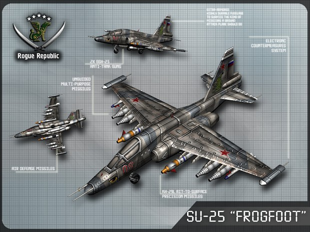 Su-25 'Frogfoot'