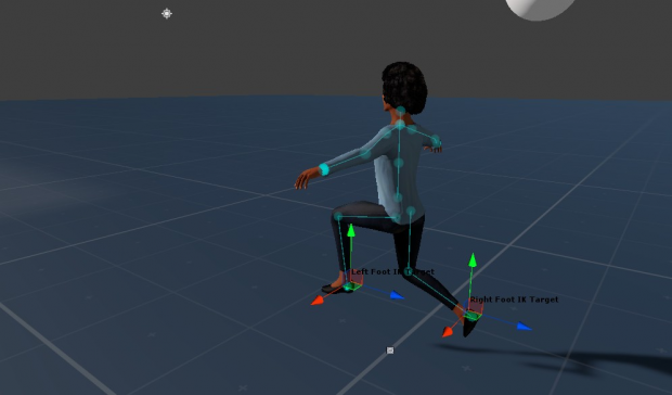 Custom Inverse Kinematics test.