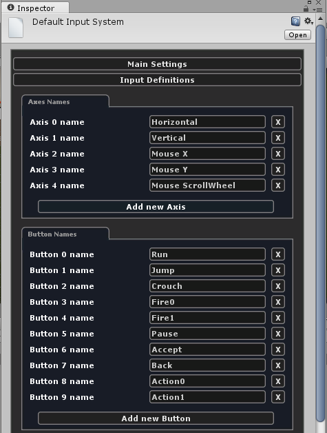 Testing our brand new input manager system