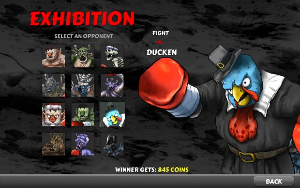 Rematch Character Selection