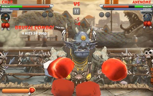 Gameplay Screenshot - Anenome the Jerky Demon