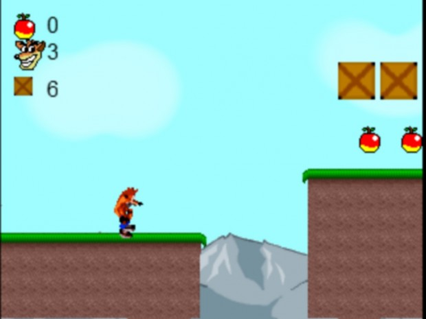 Crash Bandicoot 2D Version 1.0