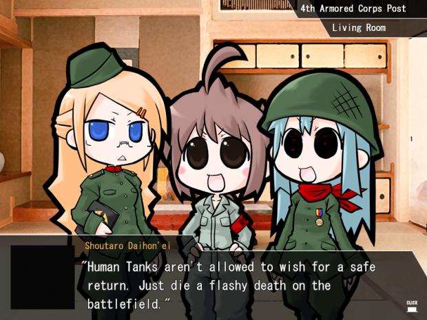 War of the Human Tanks screenshots