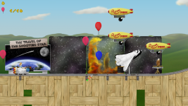 Screenshot of the space theme