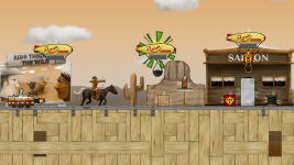 Mockup of the game