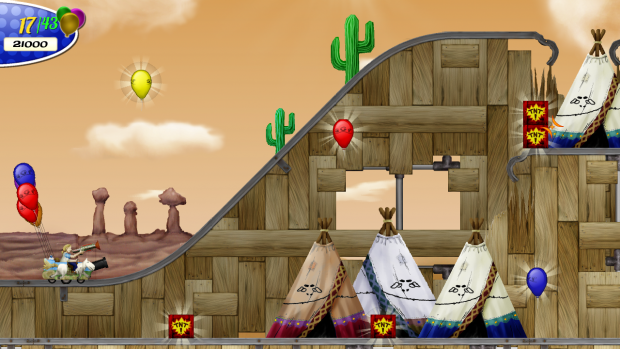 Screenshot of the Android release