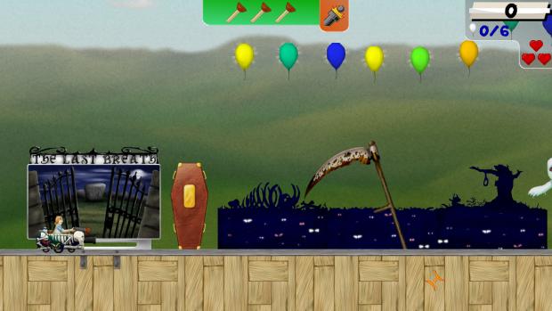 Screenshot of the morbid theme