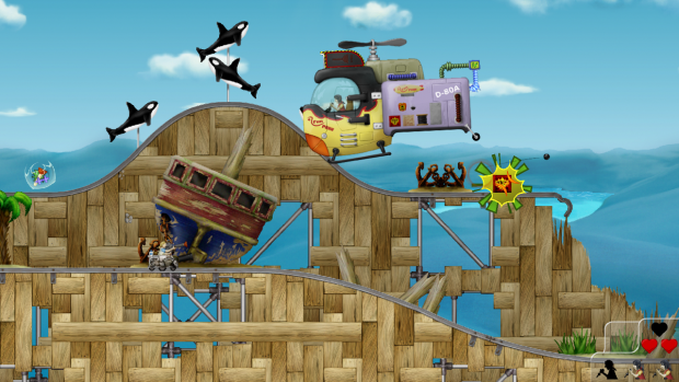 Screenshot of the initial release