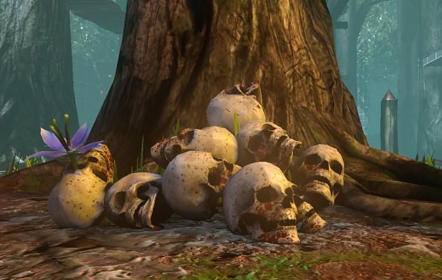 Skulls - Environment asset