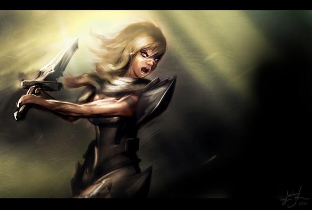 Female Knight Concept