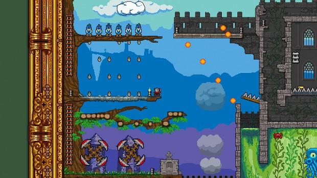 Platformance: Castle Pain Screens