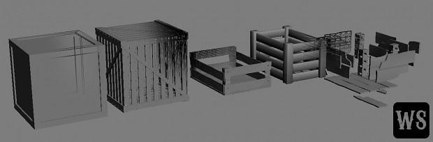 Props II - Crates