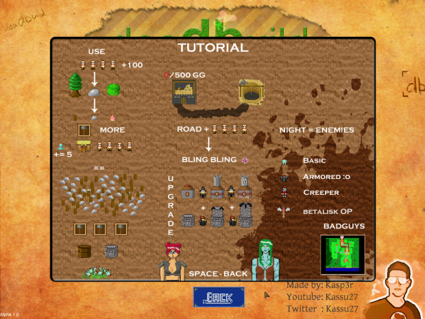 Tutorial Screen
