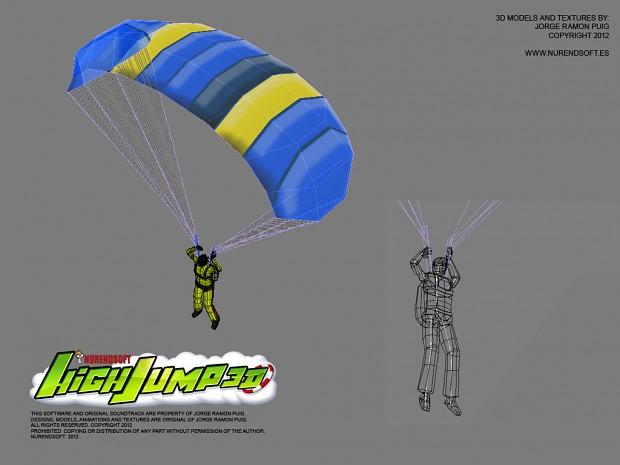 HIGH JUMP 3D - 3D models