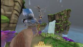 Flying little skeleton man