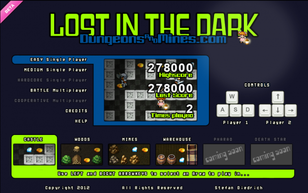 New Screenshots from D&M Lost In The Dark