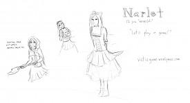 Narlet Concept Sketch