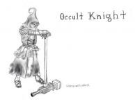 Occult Knight Concept Sketch