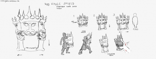 Mad Kings Shield