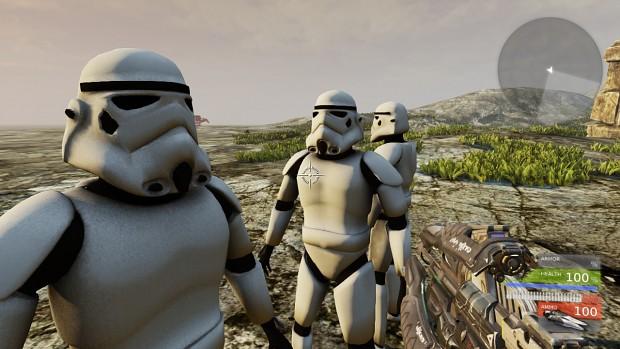 Stormtrooper in UDK