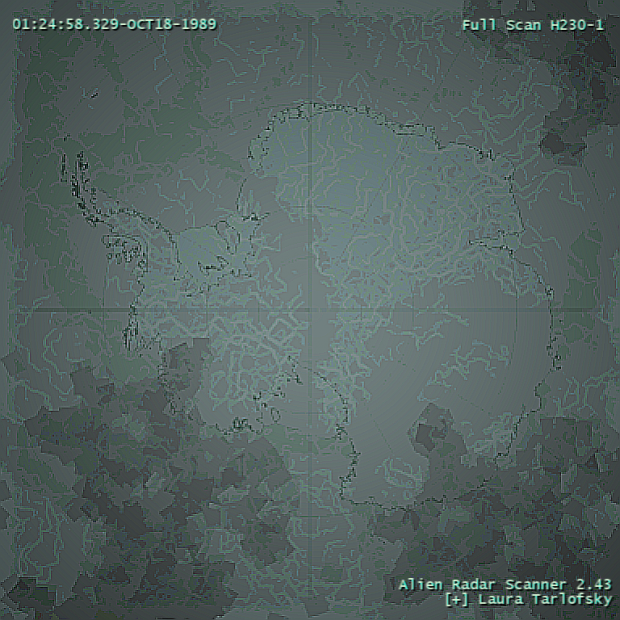 Alien Scan Map
