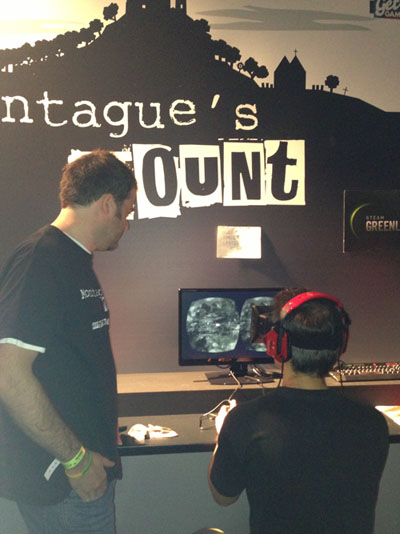 Montague's Mount at Eurogamer Expo
