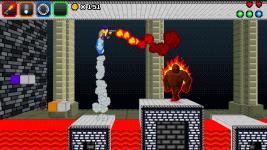 Jetpack and flamethrower