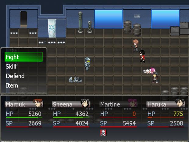 Götterdämmerung RPG screenshot