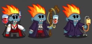 Vampire class progression