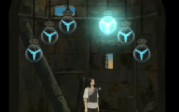 A screenshot of the first puzzle.