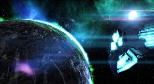 Eden Star in Space