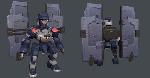 3d Robots!