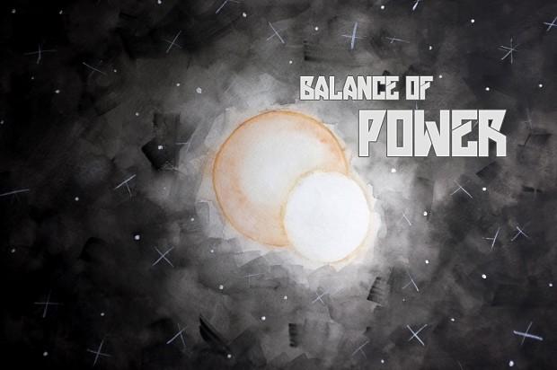Balance of Power Splashpage (prototype)