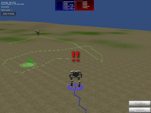 Screenshots of Exodus Alpha build