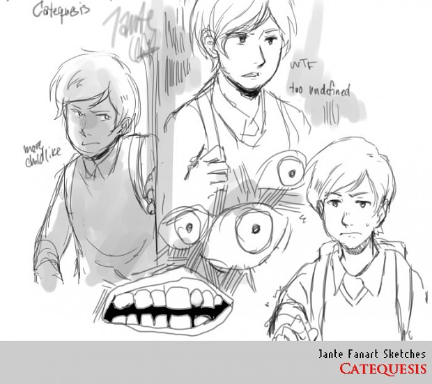 Jante Fanart Sketches