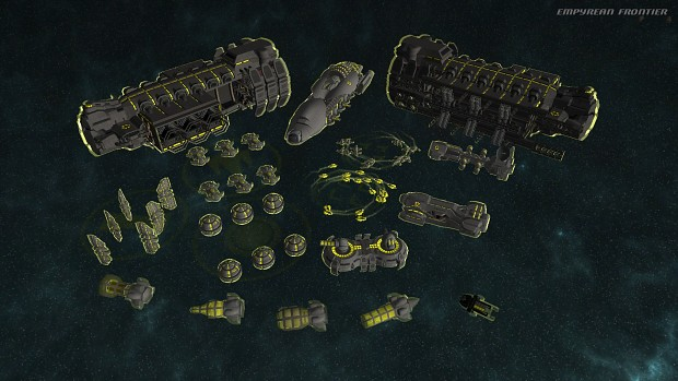 Union faction ships
