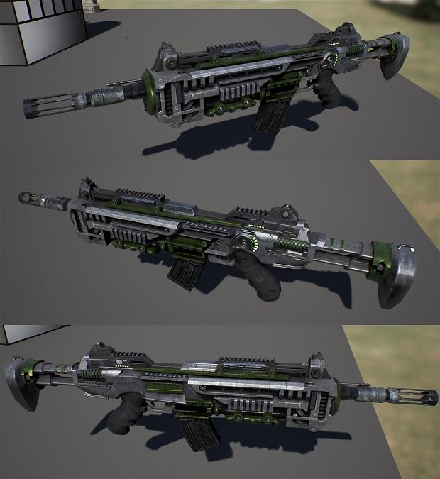 Improved rifle