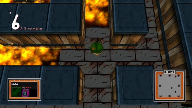 LBB Pre-Alpha: Escaping Fire