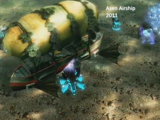 Past to Present - Asen Airship in C&C3;
